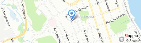 Марлин на карте Иркутска
