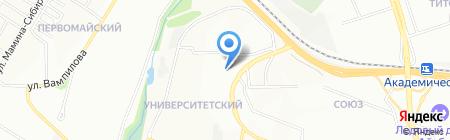 Доктор Ом на карте Иркутска