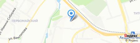 Детский сад №164 на карте Иркутска