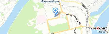 Стопол Электроникс на карте Иркутска