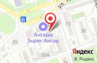 Схема проезда до компании ЭкоСтройПроект в Иркутске