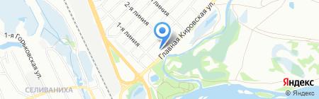 Еврогаз-38 на карте Иркутска
