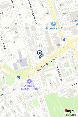 АКБ ГРИНКОМБАНК на карте Иркутска