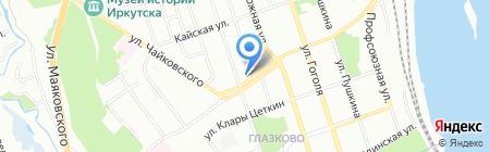 Иркутское Проектное Бюро на карте Иркутска