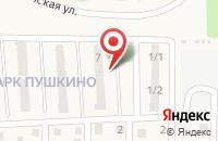 Схема проезда до компании Пушкино в Иркутске
