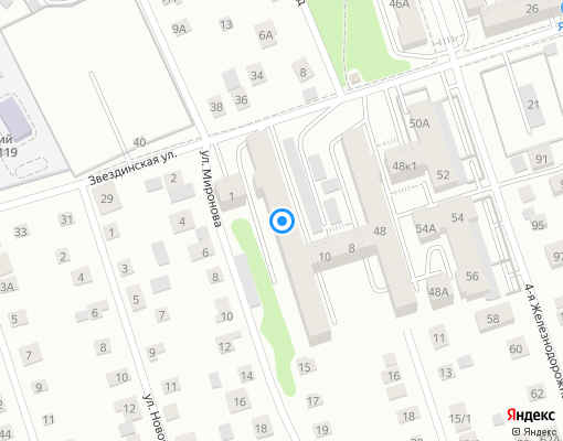Товарищество собственников жилья «Глазково» на карте Иркутска