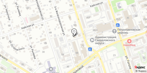 СибАкваИнжиниринг. Схема проезда в Иркутске