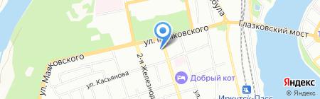 ЦБС на карте Иркутска