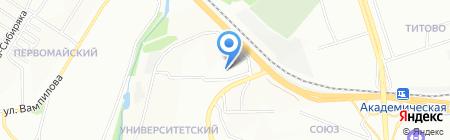 Детский сад №157 на карте Иркутска