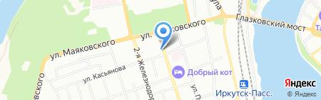 Жилищный сервис на карте Иркутска