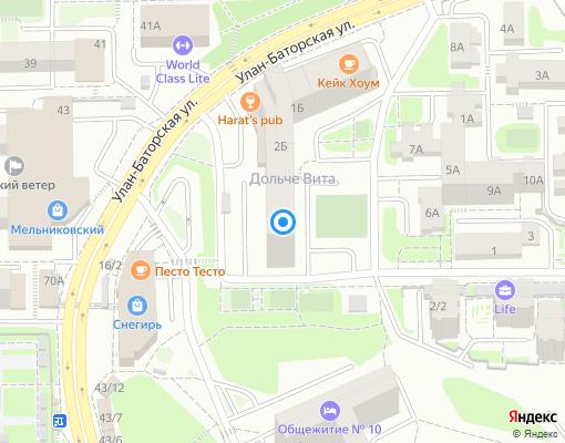 Управляющая компания «Западное управление жилищно-коммунальными системами» на карте Иркутска