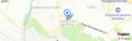 Спецмонтажстрой на карте Иркутска
