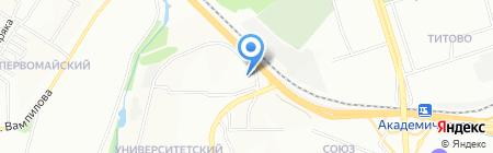 ЗА РУЛЕМ на карте Иркутска