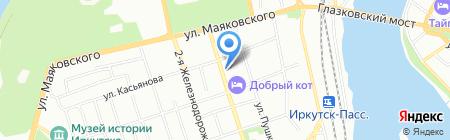 Сантехстрой Технологии на карте Иркутска