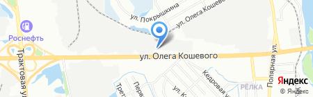 Гранд Авто на карте Иркутска