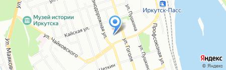 Мастер Креслов на карте Иркутска