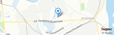 Средняя общеобразовательная школа №42 на карте Иркутска