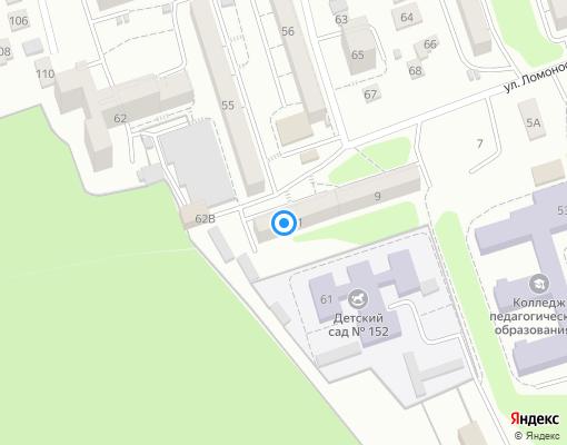 Жилищно-строительный кооператив «Политехник» на карте Иркутска