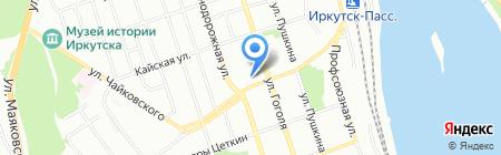 Зоомагазин на карте Иркутска