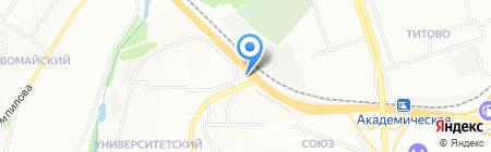 Центра-Иркутск на карте Иркутска