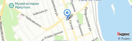 Банкомат БИНБАНК на карте Иркутска