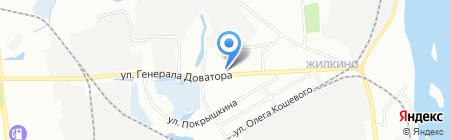 FIAT ЦЕНТР ИРКУТСК на карте Иркутска