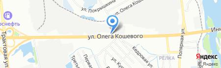 Сибкомплект-Сервис на карте Иркутска