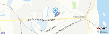 SsangYong Центр Иркутск на карте Иркутска
