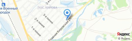 Первая мобильная автомойка на карте Иркутска