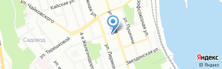 Дом доставки на карте Иркутска