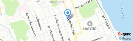 Pegas Touristik на карте Иркутска