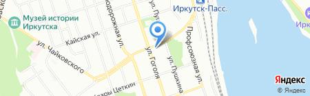 ТРИО на карте Иркутска