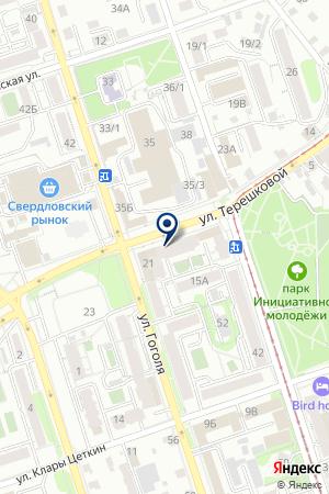 Пасека на карте Иркутска
