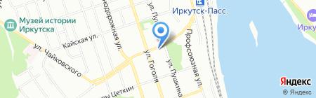 Lider fight Gym на карте Иркутска
