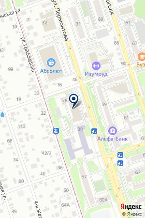 Никва-Холдинг на карте Иркутска
