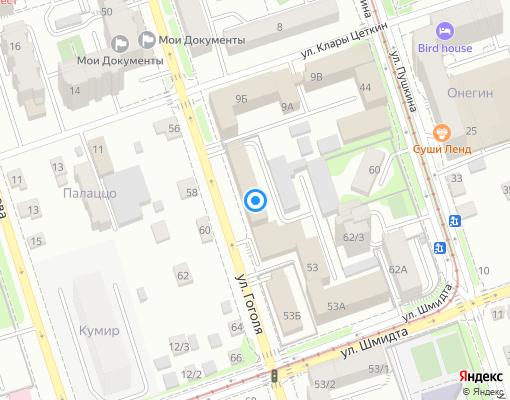 Управляющая компания «Комсистемы» на карте Иркутска