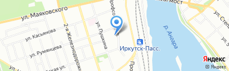 Бестлинк на карте Иркутска