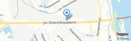Paprica на карте Иркутска