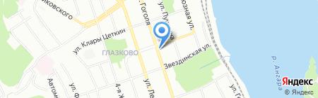 Бизнес-Резонанс на карте Иркутска