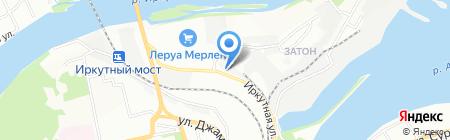Транзит-ТК на карте Иркутска