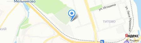 Участок по ремонту и обслуживанию РП и ТП на карте Иркутска