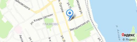 Бизнес-Технологии на карте Иркутска