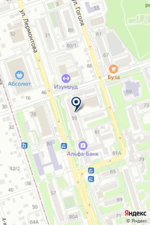 КАССА БАНКА РАДИАН на карте Иркутска