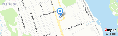 Банкомат АЛЬФА-БАНК на карте Иркутска