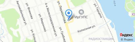 Новоселье на карте Иркутска