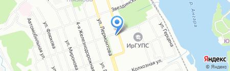 Красивые люди на карте Иркутска