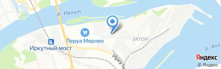 Деловые Линии на карте Иркутска