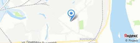 Детский сад №50 на карте Иркутска