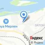 ГМЦ на карте Иркутска