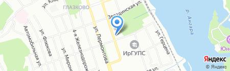 Самоцветы Сибири на карте Иркутска
